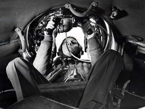 B-29 Upper Gunner
