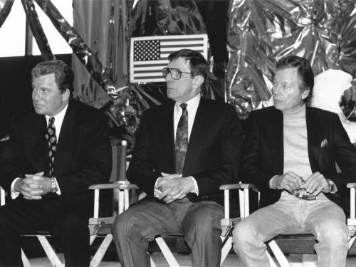 "Panel with ""Star Trek"" Cast"