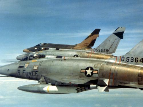 F-100Ds over South Vietnam, 1966