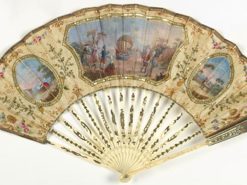 Decorative Fan from the Kendall Collection