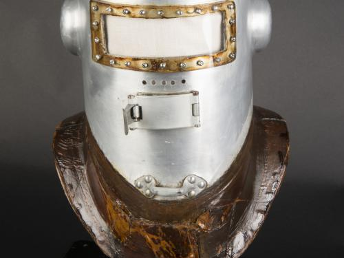 Post Helmet After Conservation