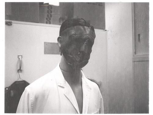 Mannequin Models Early Flight Mask