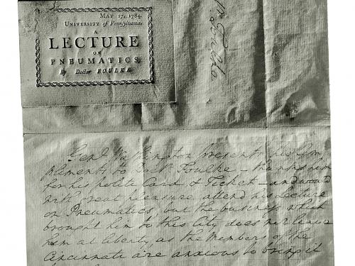 Letter from George Washington