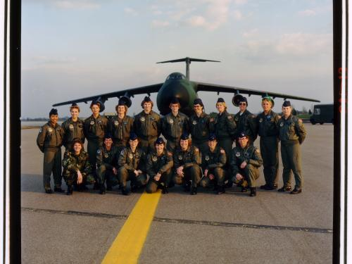 First All-Female Flight Crew of a C5