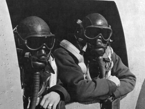 Twin Combat Team in Flying Togs