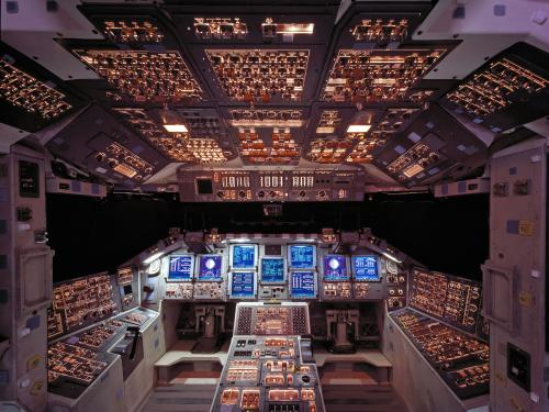 Space Shuttle Columbia Cockpit