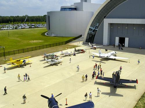 Become a Pilot Family Day at the Steven F. Udvar-Hazy Center