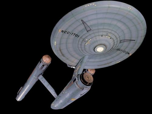 Moving the Star Trek Starship Enterprise Studio Model