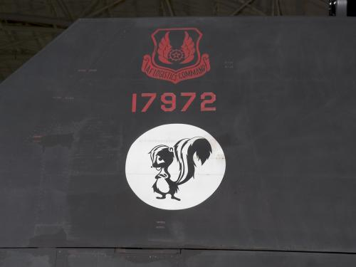 Lockheed SR-71 Blackbird Skunk Works Logo