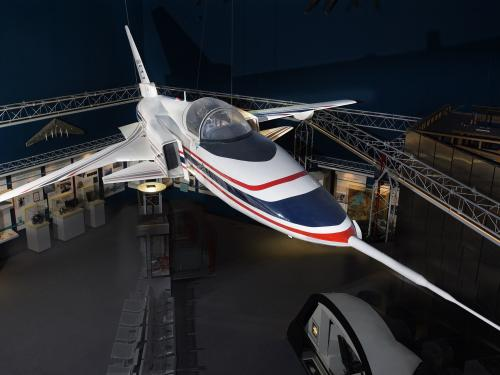 Grumman X-29 full-scale model