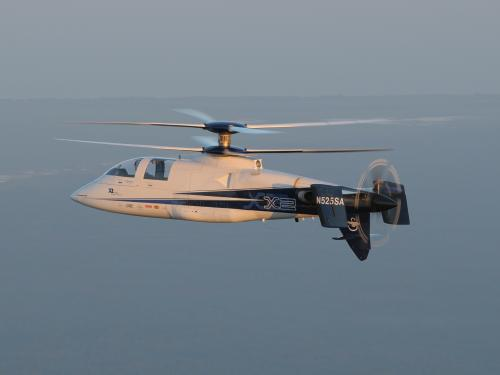 X2 Sikorsky Hellicopter