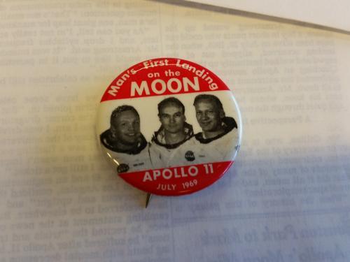 Apollo 11 Moon Pin