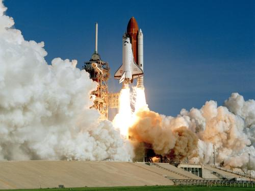 Space Shuttle Discovery's Maiden Voyage