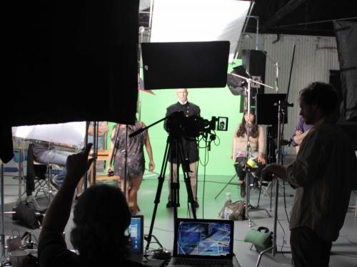 Time and Navigation Video Shoot