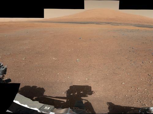 Mars Landing Site Panorama