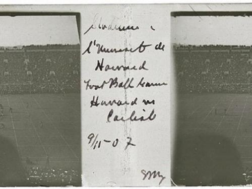 Carlisle Indian School vs. Harvard University Football Game
