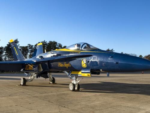 The F/A-18C Hornet