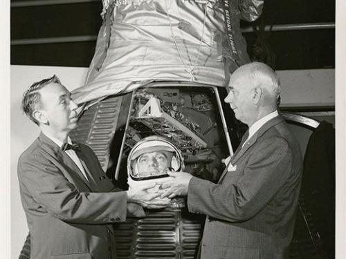 Alan Shepard's Wax Head