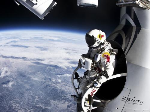 Red Bull Stratos - Manned Flight Two: Felix Baumgartner