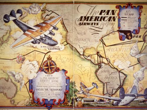 Pan Am Cover Illustration
