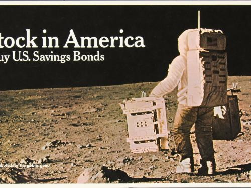 Image of savings bond.