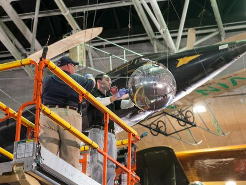 Removing the Sputnik Replica