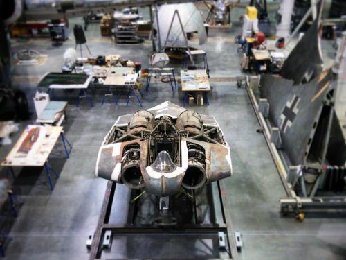 Horten at the Restoration Hangar
