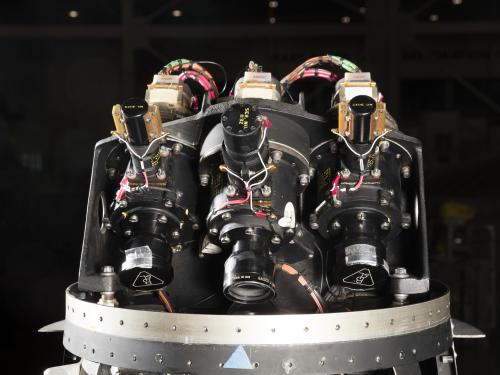 Ranger Spacecraft Cameras and Lens