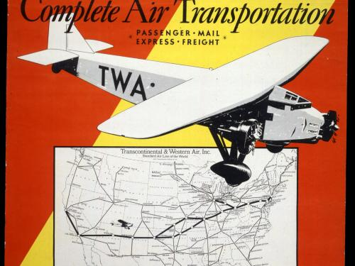 David Klein's TWA Travel Posters