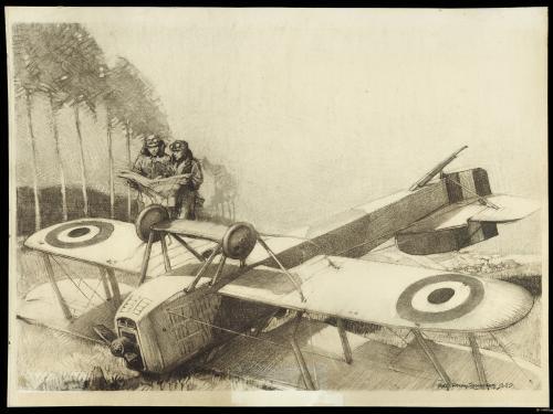 Forced Landing Near Neufchateau