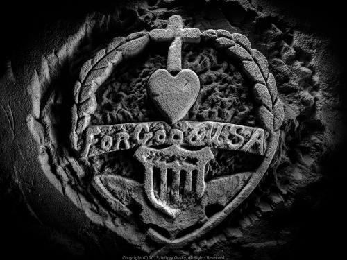 WWI Underground Carving