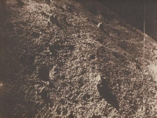 The first image of the Moon's surface