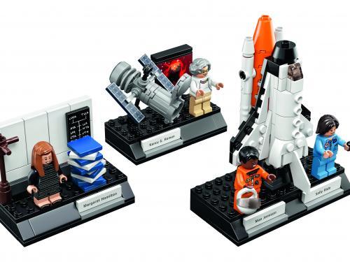 """The """"Women of NASA"""" Lego collection."""