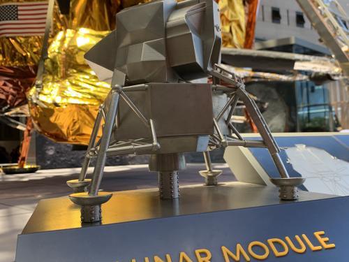 Lunar Module Tactile Model
