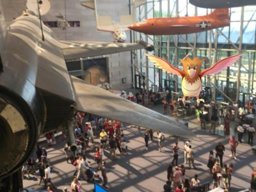 Pokemon from the second floor.