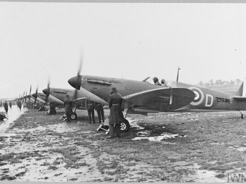 New Spitfires for 65 Squadron