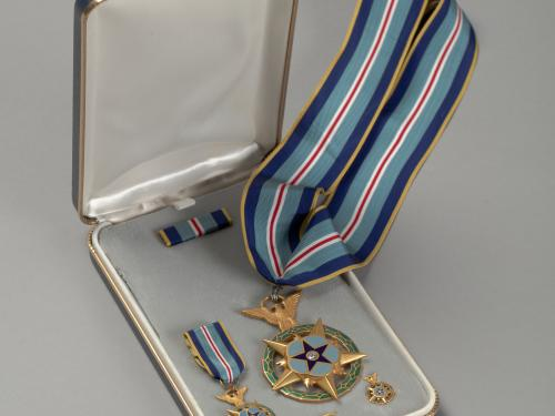 medal in display box