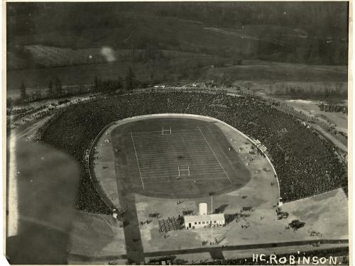 Baltimore Stadium, 1922, Army-Marine Football Game