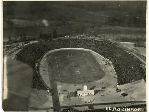 Baltimore Stadium, 1922, Army-Marine Football Game