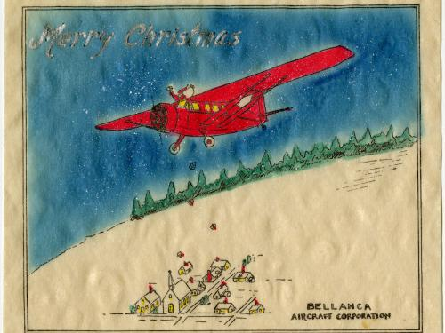 G.M. Bellanca Christmas Card
