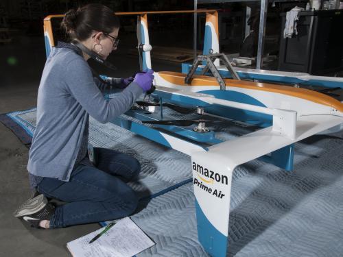 Amazon Hybrid Delivery Drone