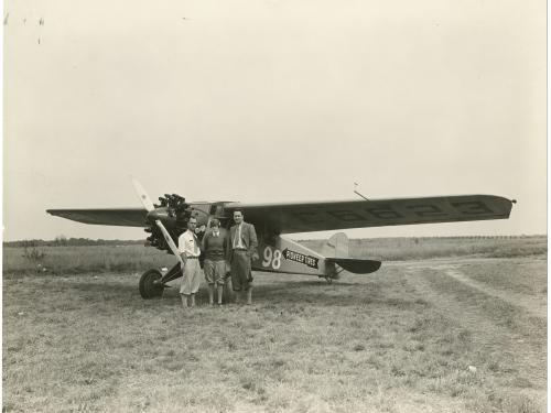 """Pilot Francis D. """"Chief"""" Bowhan"""
