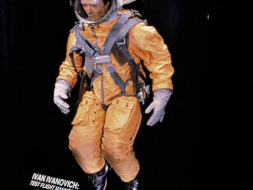 "Test Flight Mannequin named ""Ivan Ivanovich"" in Space Race"