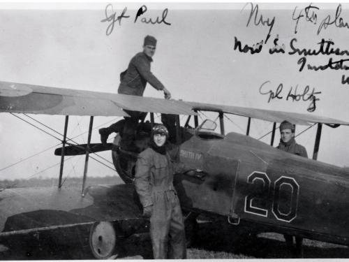"Arthur Raymond Brooks and His SPAD XIII ""Smith IV"""