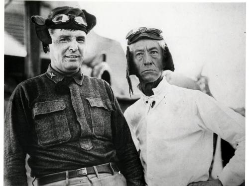 Capt. Thomas Boland and Judge Kenesaw Mountain Landis