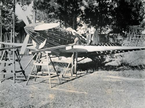 Curtiss P-40 Warhawk Decoy