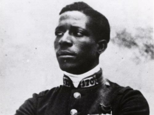 Portrait of Eugene Bullard