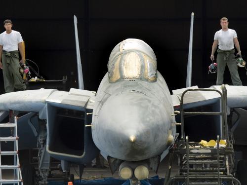 Grumman F-14D(R) Tomcat at the Udvar-Hazy Center
