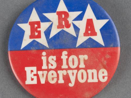 Sally Ride's ERA Button