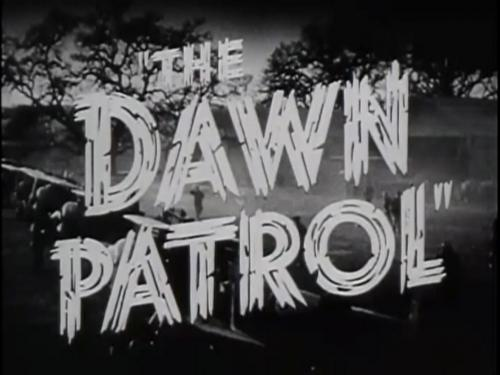 The Dawn Patrol: 1930 WWI Film Features Museum Aircraft